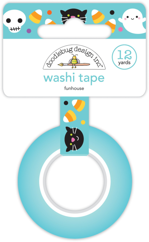 Funhouse Washi Tape
