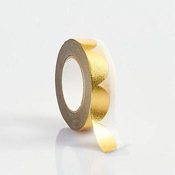 Gold Scallop Washi Tape