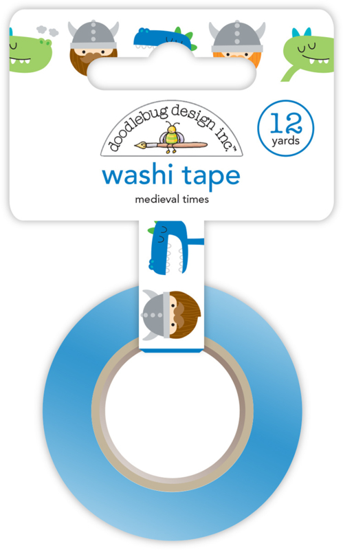 Medieval Times Washi Tape