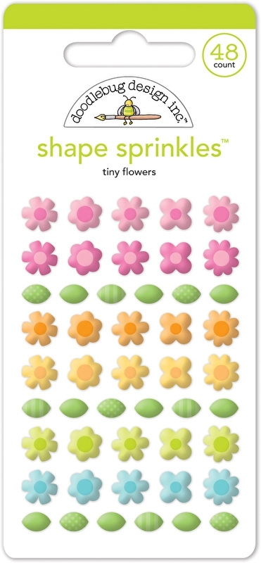 Tiny Flowers Shape Sprinkles