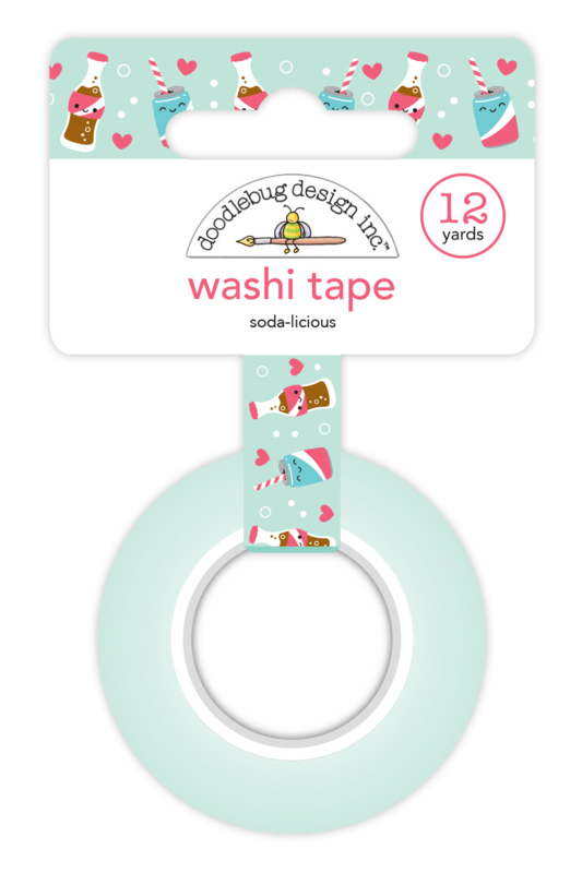 Soda-licious Washi Tape