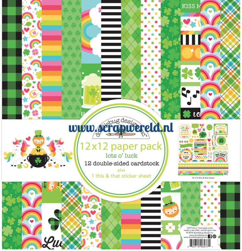 Lots o' Luck 12x12 Paperpack