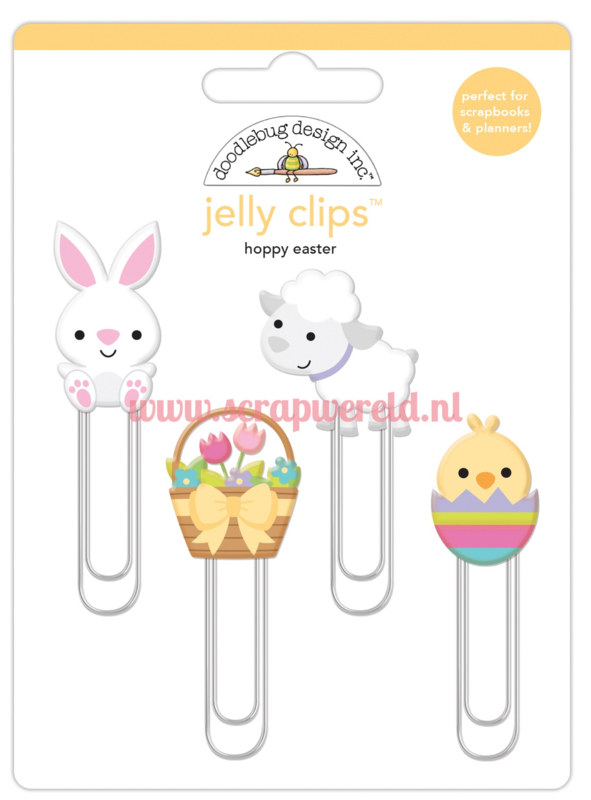 Hoppy Easter Jelly Clips