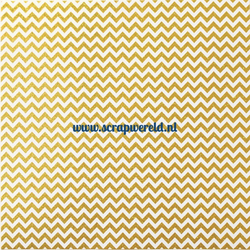 "Good as Gold Double Sided 12x12"" Cardstock"