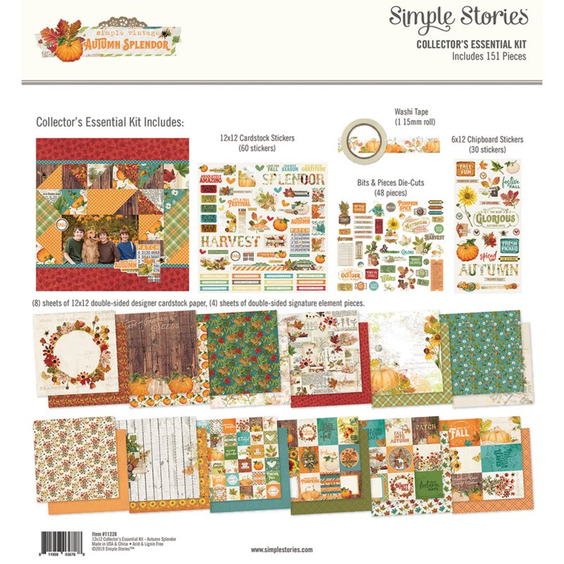 Autumn Splendor Collectors Essentials Kit