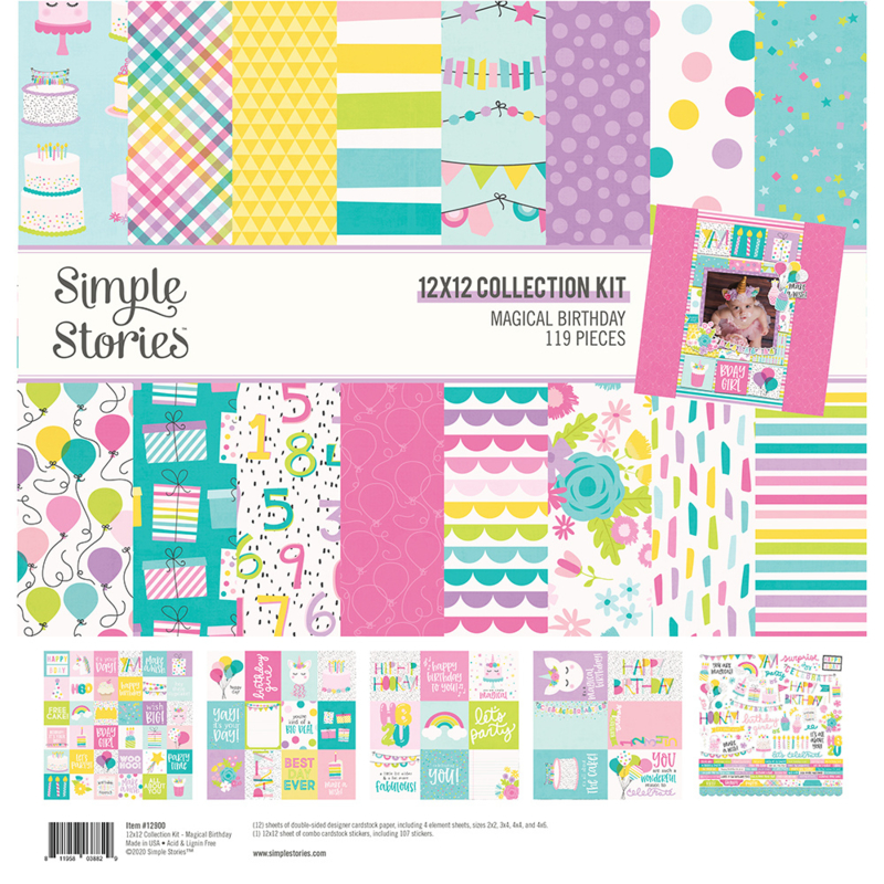 Magical Birthday Collection kit