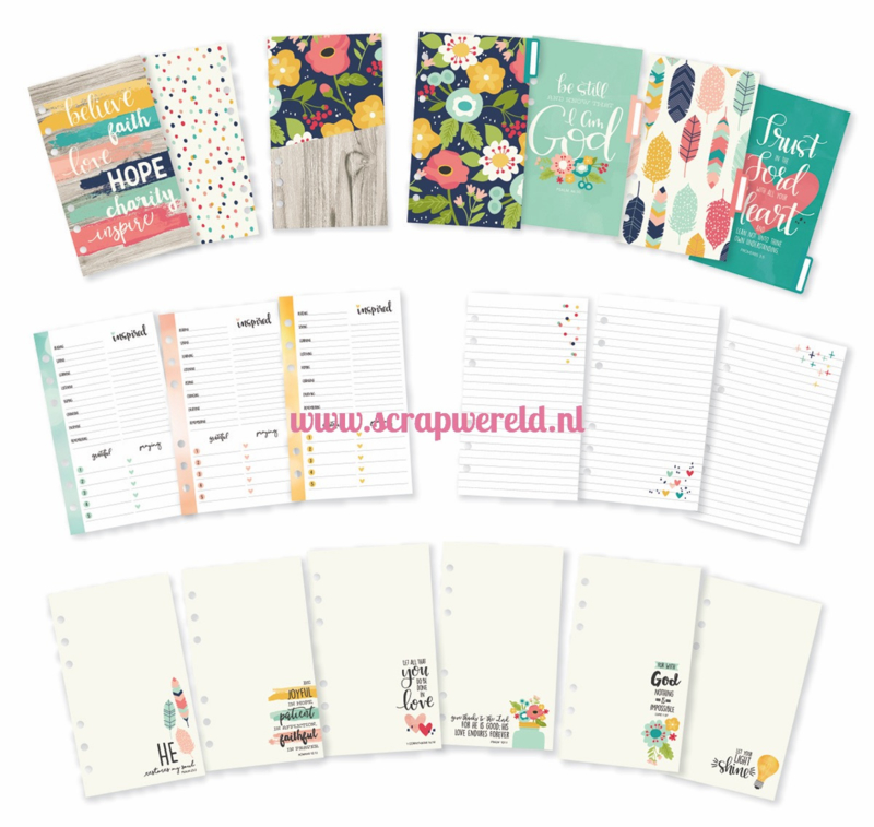Faith Personal Planner Insert Set