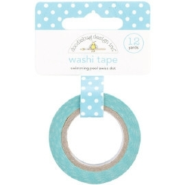 Swiss Dot Washi Tape Swimming Pool