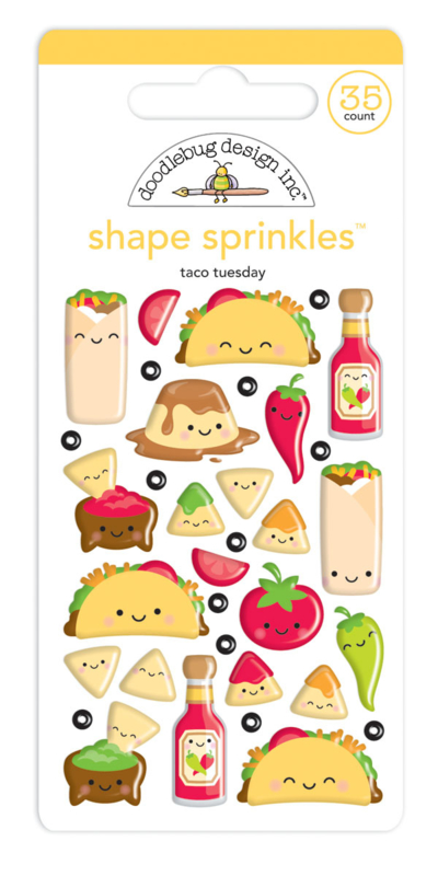 Taco-bout Fun Shape Sprinkles