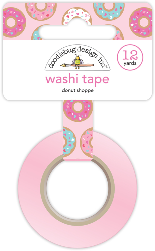 Donut Shoppe Washi Tape