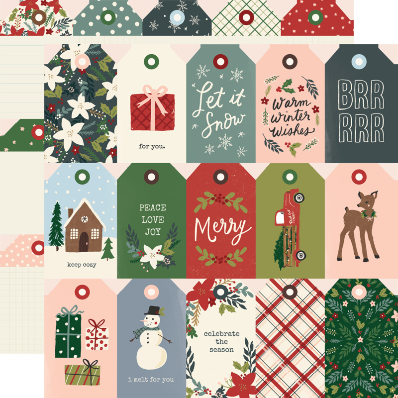Winter Cottage- Tags