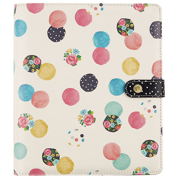 Floral Dot A5 Planner