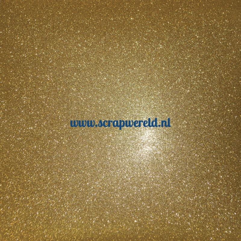 Gold Sugar Coated Cardstock 12x12""