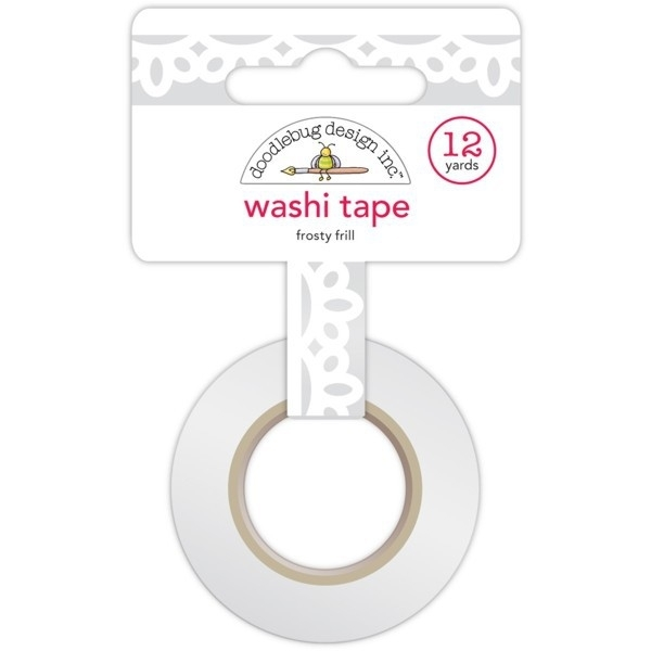 Sugarplums Frosty Frills Washi Tape