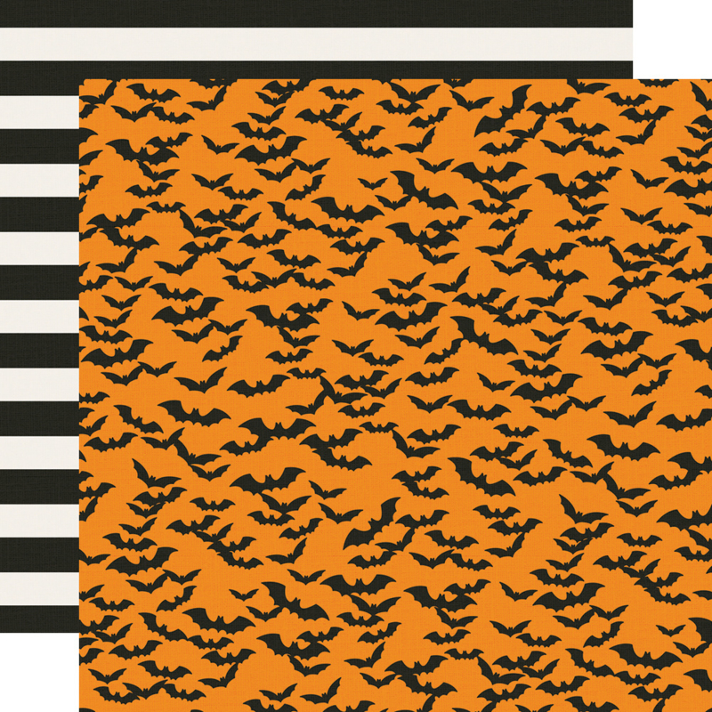 """Say Cheese Halloween Frankly Frightful Double Sided 12x12"""""""