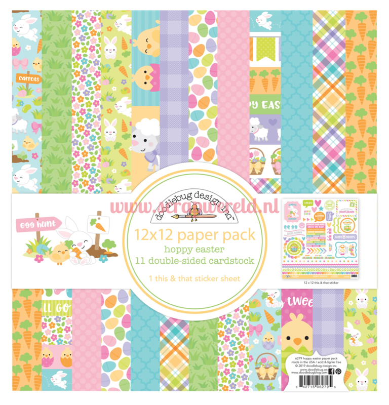 Hoppy Easter 12x12 Paperpack