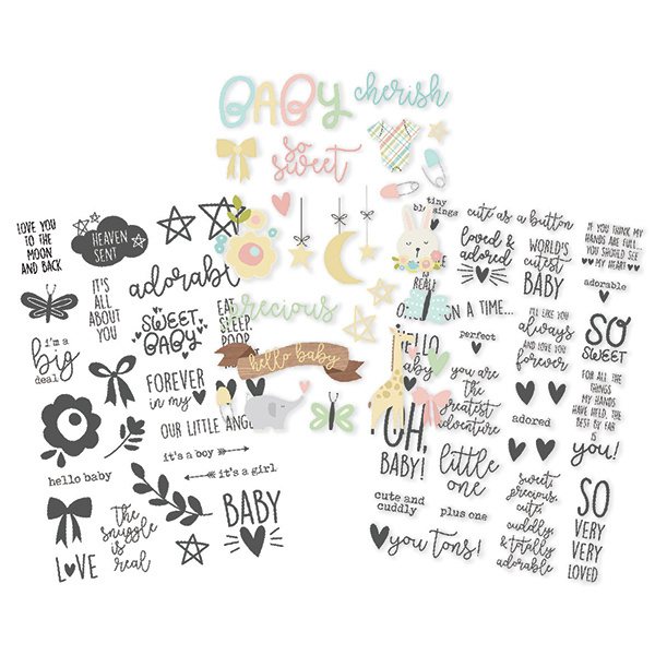 Oh Baby! Clear Stickers