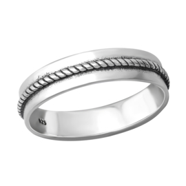 925 STERLING ZILVEREN RING - BAND