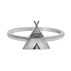 925 STERLING ZILVEREN RING - TIPI
