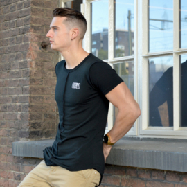 Inside Out Tee   Black