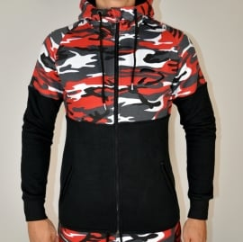 Excellence Jacket | Camo Red | Size XL
