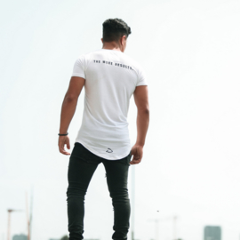 Scooped Tee  Regular Fit | White