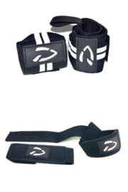 Disciplined Wrist Wraps + Lifting Straps
