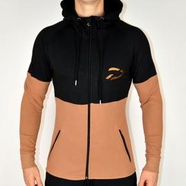 Lightweight Jacket | Black / Camel
