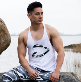 Excellence Stringer | Camo Grey