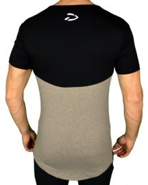 Curved Evo Shirt | Taupe