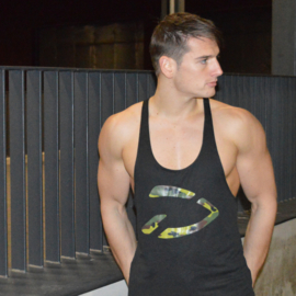 Excellence Stringer | Black Camo