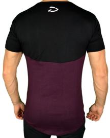 Curved Evo Shirt | Burgundy