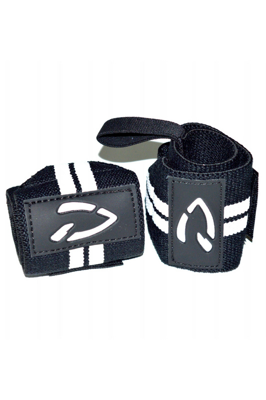 Disciplined Wrist Wraps | Black / White