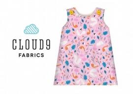Cloud 9 - Forest Friends   Pink