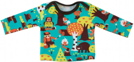 Envelope neck long sleeve -  Size 2T - 15Y