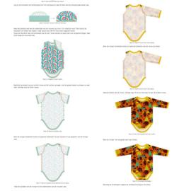 Baby bodysuit size newborn - 4Y