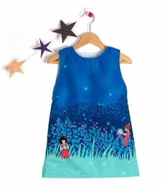 A-line dress - Size 4Y- 11Y