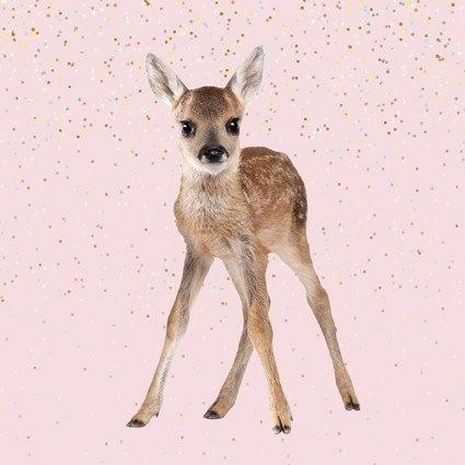 Bambiblauw - Paneel Bambi