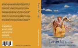 Hardcover 'Liever bij mij...'