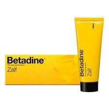 Betadine jodium zalf 30 gram