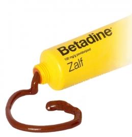 Betadine jodium zalf 50 gram