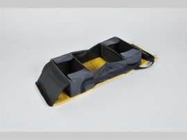 EHBO schoudertas geel