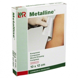 L&R metalline wondkompressen (8 x 10)cm