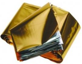 Foxxsport  reddingsdekens goud/zilver (160 x 120) cm