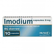 Immodium capsules 2mg 10 capsules