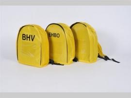 EHBO rugzak geel met /zonder opdruk