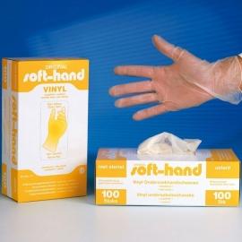 Vinyl onderzoek handschoenen poedervrij
