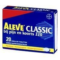 Aleve classic 220 mg. tabletten 12 stuks