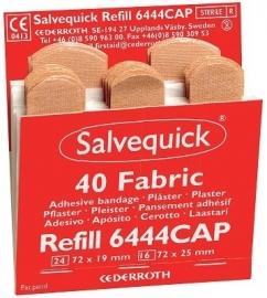 Salvequick pleisters 6444 rood 40 stuks
