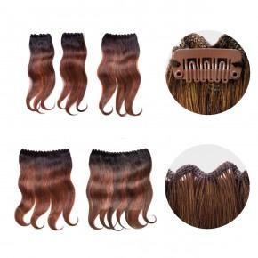 Clip-In Weft Memory Hair 45cm